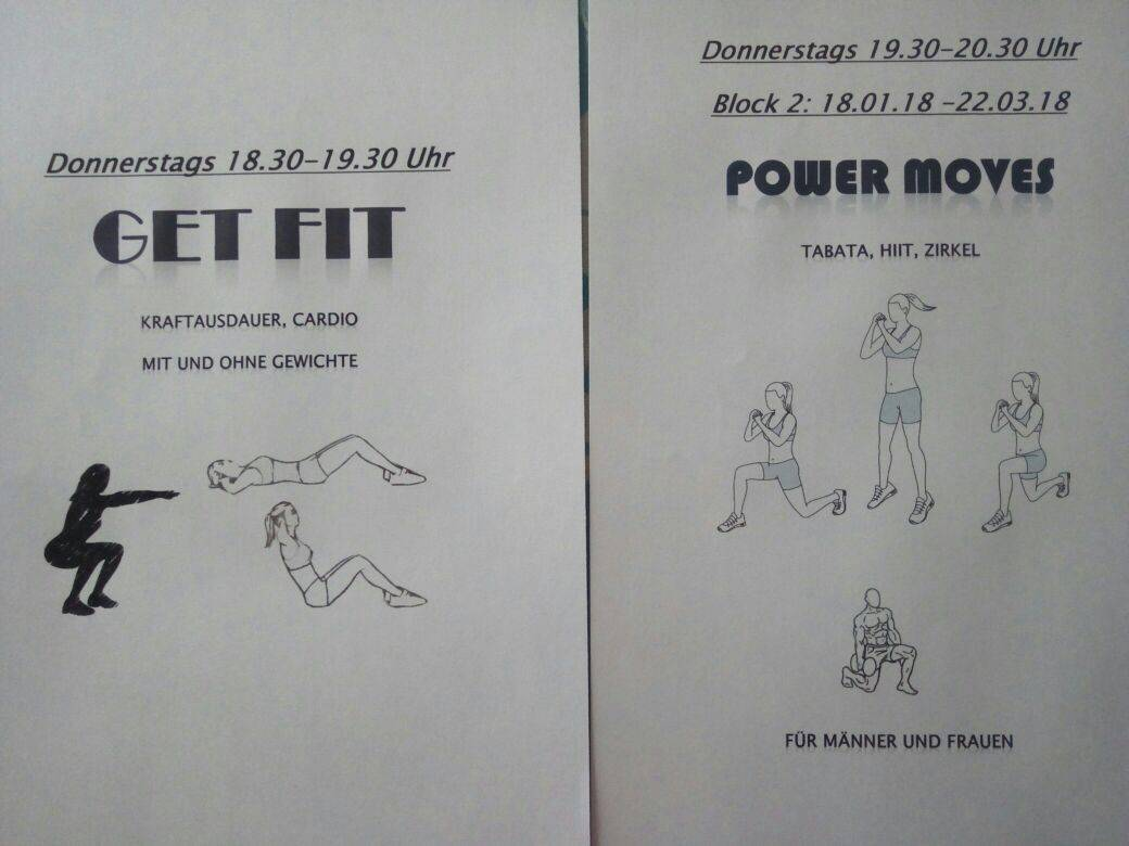 Get fit -Power moves